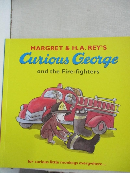 【書寶二手書T2/少年童書_JDM】Curious George and the Fire-fighters_Margret,H. A. Rey