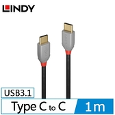ANTHRA LINE USB 3.1 GEN 2 C公 TO C公 傳輸線+PD智能電流晶片 1M