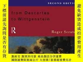 二手書博民逛書店A罕見Short History Of Modern PhilosophyY255562 Roger Scru
