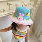 兒童帽 兒童防曬帽女寶寶夏季薄款太陽帽女可愛超萌帽子女童公主遮陽帽 晶彩生活