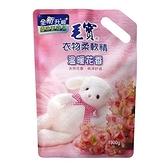 毛寶衣物柔軟精補充包-溫暖花香1900g【愛買】