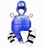 跆拳道護具全套成人兒童加厚型比賽護具六件套 cf 全館免運