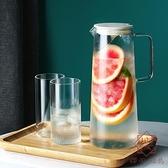 日式耐熱耐高溫玻璃茶壺家用大容量北歐套裝【櫻田川島】