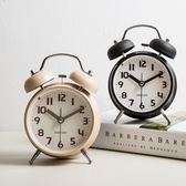 鬧鐘創意小鐘表學生簡約可愛時鐘靜音床頭台鐘兒童迷你臥室夜光鐘HD【新店開業,限時85折】