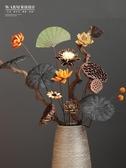 天然干花花束真花客廳擺設花插花落地大束長枝風干裝飾擺件永生花 NMS台北日光