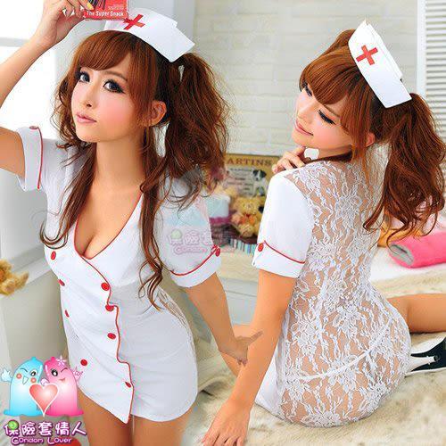 【愛愛雲端】火辣護士!媚惑 三件式 護士服 R8NA12030126
