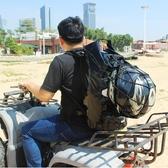 後背包 摩托車背包全防水包機車騎行包男雙肩頭盔包滑雪越野后尾包后座包 星河光年DF