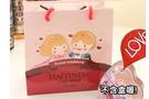 *幸福朵朵*愛心王子公主圖案禮物袋(包裝袋.手提袋.可裝禮品)- 送客禮物包裝袋/婚禮小物