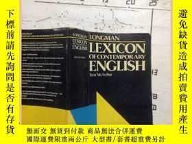 二手書博民逛書店longman罕見lexicon of contemporary