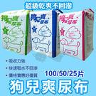 PetLand寵物樂園《超級狗兒爽》寵物超吸收尿布 - 整箱8包入 / 最吸水超值尿布【免運】