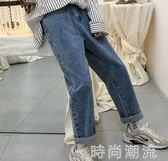 寬管褲春季水洗復古男士直筒牛仔褲韓版潮流九分褲學生長褲 時尚潮流