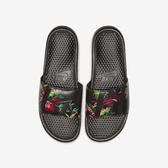 Nike Benassi JDI Print [631261-023] 男鞋 拖鞋 涼鞋 運動 休閒 雨天 海邊 雨林黑