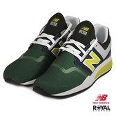 New Balance 新竹皇家 247 綠色 網布 套入式 運動鞋 男款 NO.B0134