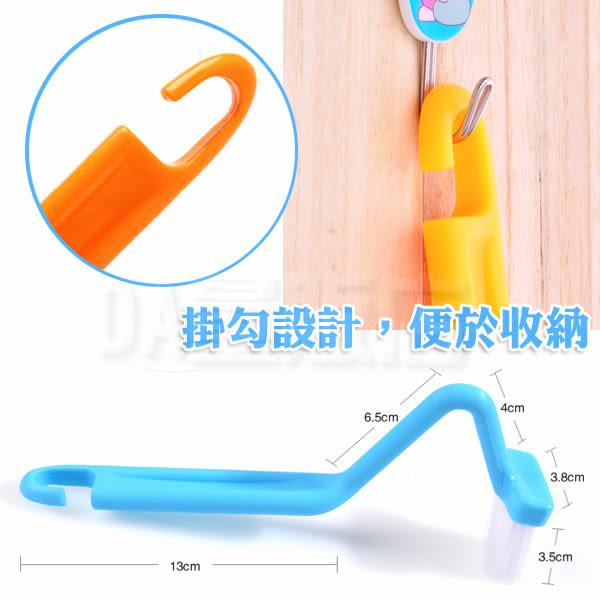 S型設計 馬桶刷 彎曲 刷子 清潔馬桶死角 內側清潔刷 清潔刷 顏色隨機(V50-0099)