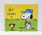 【震撼精品百貨】史奴比Peanuts Snoopy ~SNOOPY 大卡片-音樂綠#43737