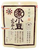 【吉嘉食品】井村屋 煮小豆-紅豆風味羊羹 1包105公克7入,日本進口 [#1]{4901006113502}