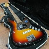 凱傑樂器 庫存展示新品 出清 BACCHUS Bass BJB60 ACTIVE 3JS 日本廠 主動式 (夕陽漸層色) 附硬盒