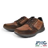 【IMAC】BACKERTEX防水透氣時尚真皮運動休閒鞋  棕色(80948-DBR)