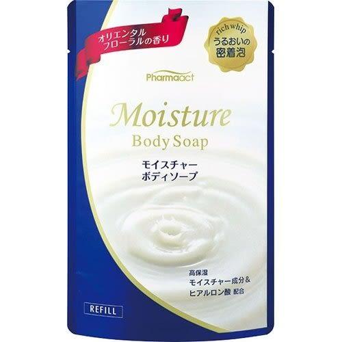 日本 熊野 PHARMAACT 保濕沐浴乳 東方花香 400ml 【3681】