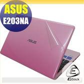 【Ezstick】ASUS E203 NA 專用 二代透氣機身保護貼(含上蓋貼、鍵盤週圍貼、底部貼)DIY 包膜