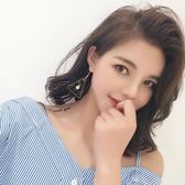 幾何三角形復古耳環女氣質韓國個性百搭簡約創意潮人耳墜耳釘耳飾『摩登大道』