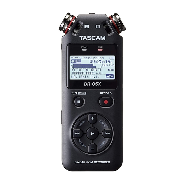 [2美國直購] 錄音機 Tascam DR-05X Stereo Handheld Digital Recorder USB Audio Interface