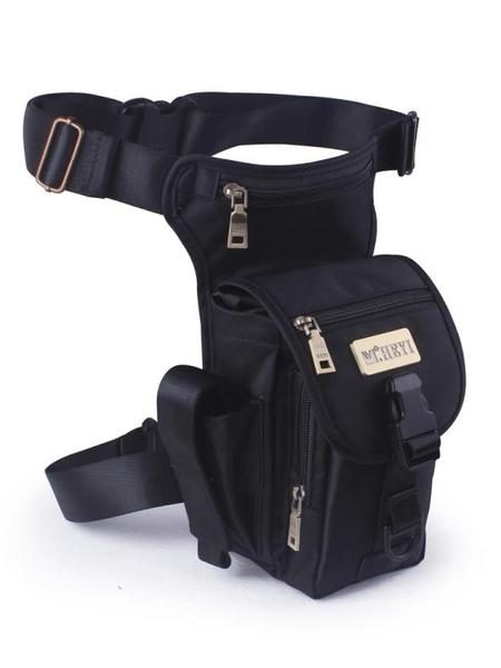 戶外腰腿包男多功能戰術機車腰包運動騎行腿包軍迷工具包斜跨小包 黛尼時尚精品