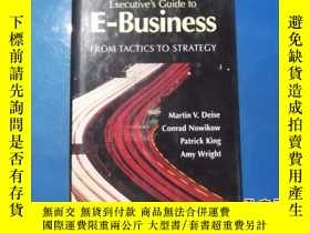 二手書博民逛書店Executive`s罕見Guide to E-Business from Tactics to Strategy