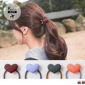 《ZB0594》韓國製立體大愛心髮圈  OrangeBear
