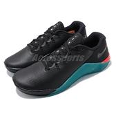 Nike 訓練鞋 Metcon 5 AMP 黑 藍 男鞋 運動鞋 健身房 【ACS】 CD3395-006