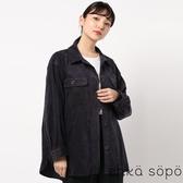 ❖ Autumn ❖ 燈芯絨口袋落肩襯衫/夾克 (提醒➯SM2僅單一尺寸) - Sm2