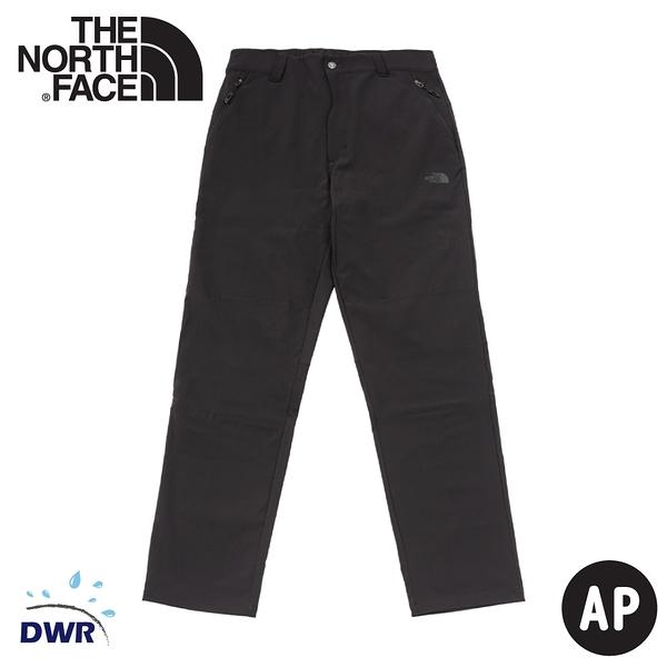 【The North Face 男 保暖褲《黑》】4NAB/衝鋒褲/戶外休閒長褲/登山褲
