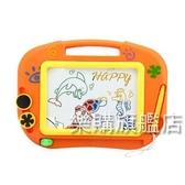 彩色磁性寫字板兒童畫畫板1-3周歲5小孩黑板寶寶家用早教玩具禮物