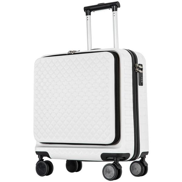 行李箱ins網紅迷你輕便小型拉桿密碼旅行登機箱子女18小號皮20男-金牛賀歲