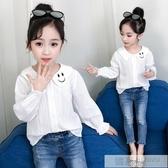 女童襯衫2020新款春秋裝兒童洋氣格子襯衣中大童純棉春季韓版上衣 韓慕精品