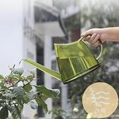長嘴澆水壺淋花澆菜家用陽臺灑水壺園藝塑料加厚透明澆花噴壺【白嶼家居】