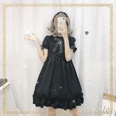 蘿莉裝古著感少女裝洋裝超仙洛麗塔黑暗系夏宮廷風學生便宜蘿莉塔裙子 NMS蘿莉小腳丫