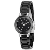 DKNY  陶瓷腕錶(黑)