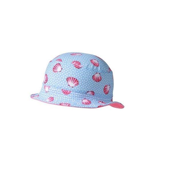 防曬漁夫帽  (S/M沒綁帶) 海貝殼系列 澳洲鴨嘴獸 UPF 50+ 抗UV 適合海灘/水上樂園/泳池/玩水