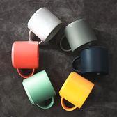 咖啡杯ins簡約杯子北歐馬克杯水杯陶瓷 大容量宜家創意 家用歐式 萬聖節禮物