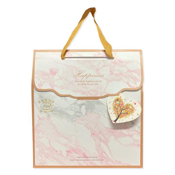艾格諾先生手工蛋捲 幸福禮盒 (原味*14+山葵海苔*6) 附3包山葵鹽 單支袋包裝20入