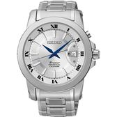 【人文行旅】SEIKO | 精工錶 SNQ139J1 Premier 羅馬風格 藍寶石水晶鏡面 石英錶