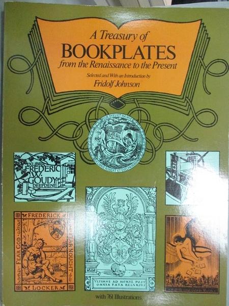 【書寶二手書T6/漫畫書_WDD】A Treasury of Bookplates from the Renaissan