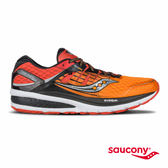 SAUCONY TRIUMPH ISO 2 緩衝避震專業訓練鞋-橘x黑x銀