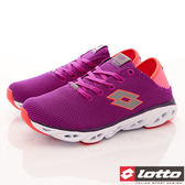 【LOTTO】AIR FLOW-RELAXED 風動跑鞋-LT7AWR5517-紫紅-女段-0