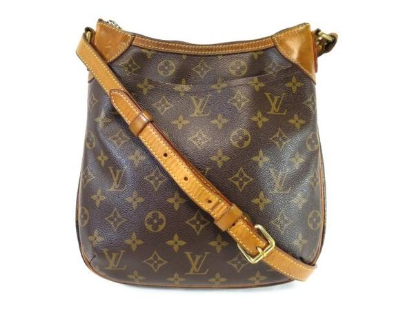 LV LOUIS VUITTON 路易威登 原花斜背包 Odeon PM M56390【BRAND OFF】