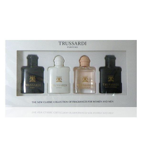 Trussardi 迷你小香禮盒組 7mlx 4