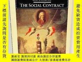 二手書博民逛書店The罕見Social Contract 英文原版-《社會契約論