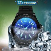 夜光手錶男學生韓版男孩電子錶防水
