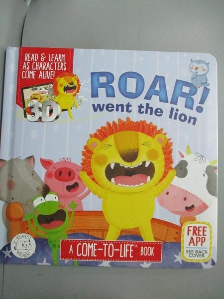 【書寶二手書T5/少年童書_YBF】Roar! Went the Lion (Ar)_Joshua George